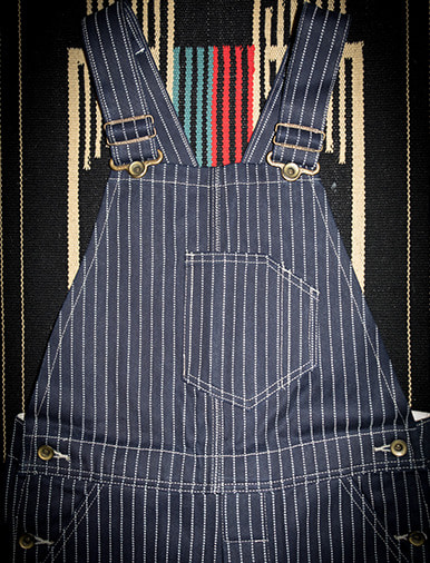 LOW BACK TYPE WABASH OVERALLS
