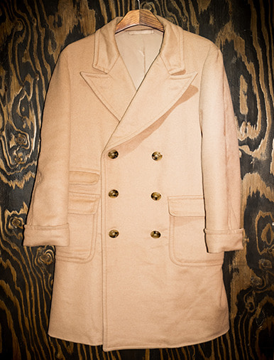 DOUBLE BREAST CHESTERFIELD COAT