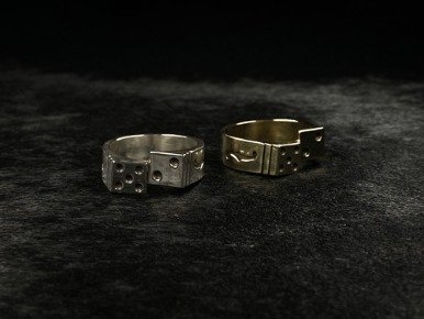 ROCKABILLY DICE RING